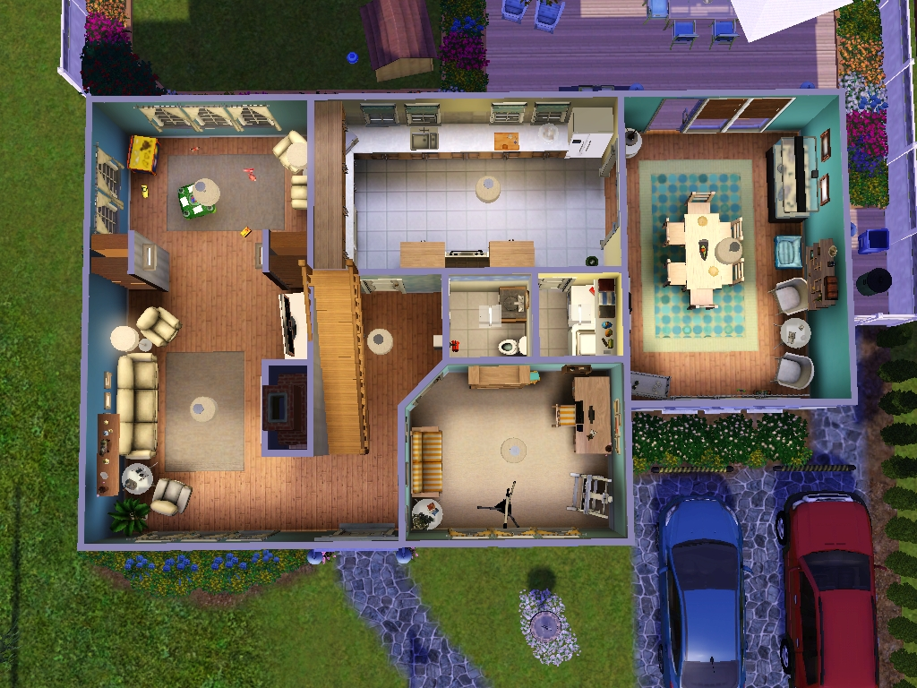 Amazing Sims House Plans House Interior - Cool sims 3 houses